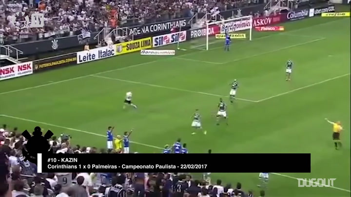 Corinthians' top 10 tricks and flicks