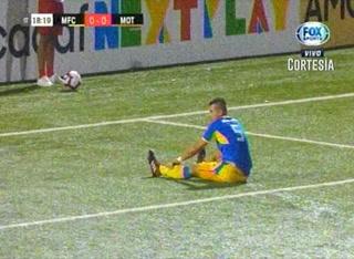 Con autogol de Rigoberto Fuentes Motagua está venciendo 1 - 0 al Managua