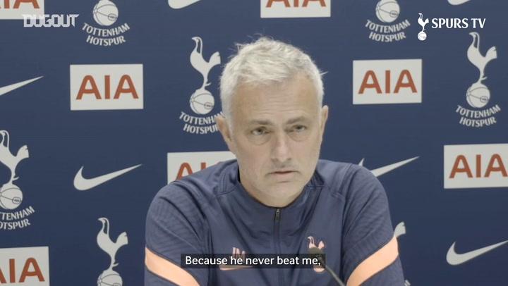 Mourinho: 'Arsene Wenger never beat me'