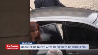 KIRCHNER DE NUEVO ANTE TRIBUNALES DE CORRUPCIÓN