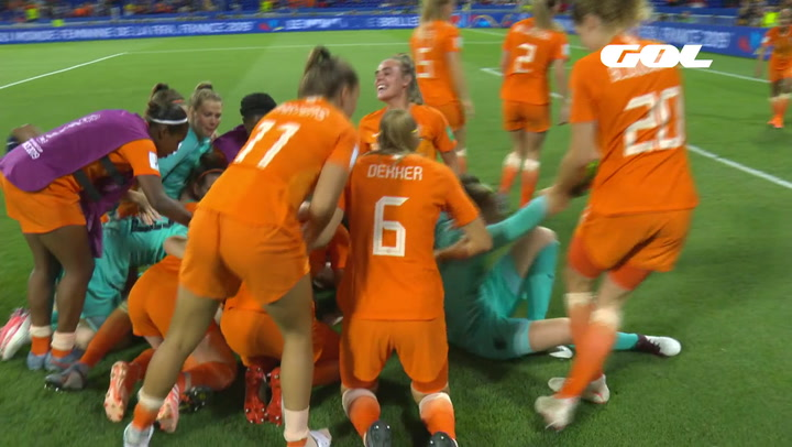 Mundial Femenino Francia 2019: Resumen del Holanda (1) - (0) Suecia