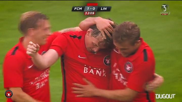 FC Midtjylland's top Champions League goals