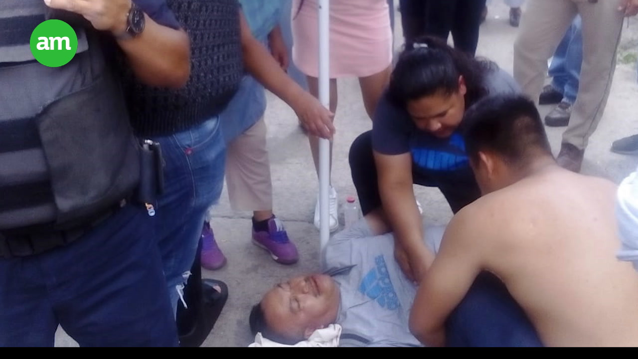 Video: Pelea familiar... en pleno Día del Padre