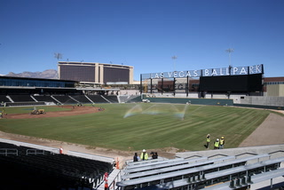 The Grass is Greener at the Las Vegas Ballpark – VIDEO