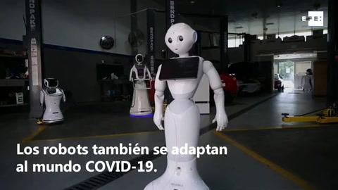Los robots también se adaptan al mundo COVID-19