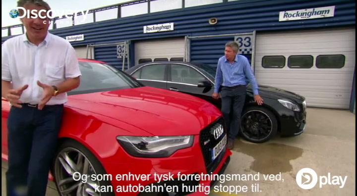 Mercedes vs Audi - hvem bremser bedst?