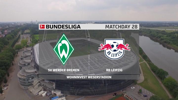 Leipzig goleia o Bremen e segue na caça ao Bayern