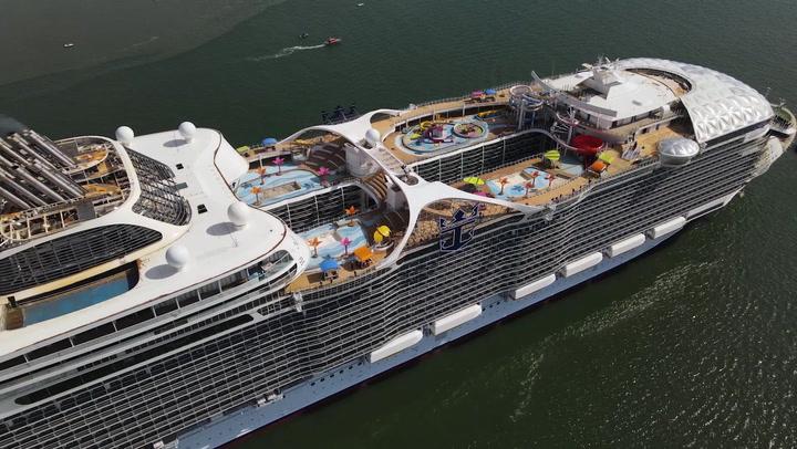 Wonder of the Seas completes sea trials