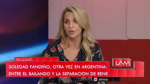 Soledad Fandiño reveló el verdadero motivo de su separación de René