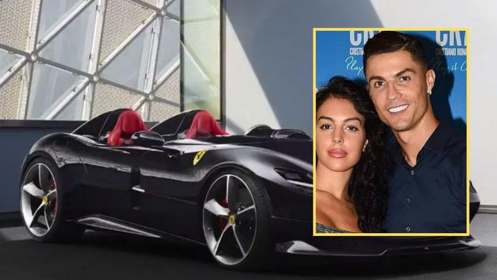 Así es el impresionante nuevo Ferrari de Cristiano