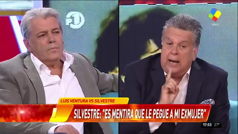 Escandaloso cruce entre Luis Ventura y Silvestre en Infama