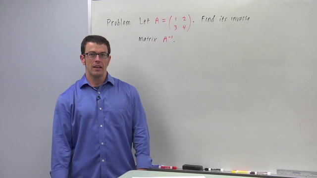 The Inverse of a Square Matrix - Problem 1