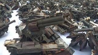 Perú destruye más de 11.000 armas para luchar contra inseguridad ciudadana