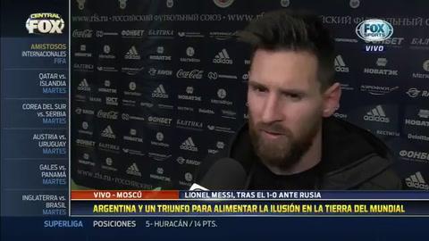Messi: Hay que aprovechar el tiempo para reforzar el juego