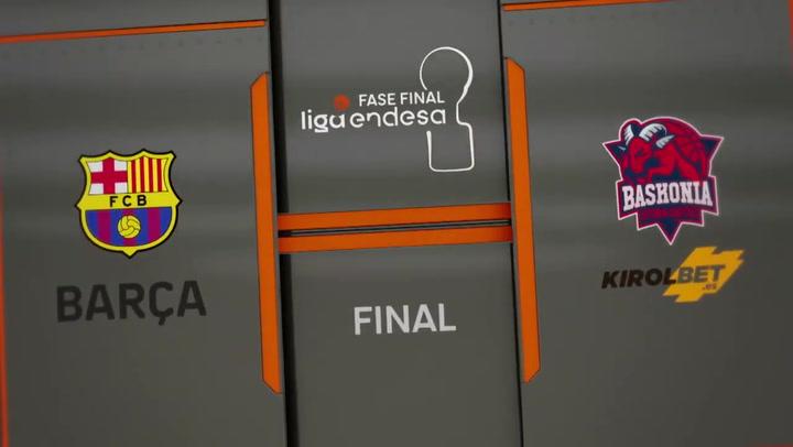 Barça - Kirolbet Baskonia (67-69), resumen de la final de la Liga Endesa 2019-20