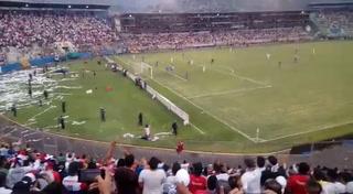 Así se desató la locura en uno de los goles de Jorge Benguché