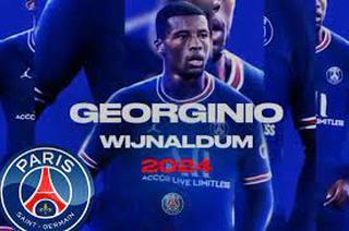 ¡Georginio Wijnaldum se olvida del Barcelona y es nuevo fichaje del PSG!