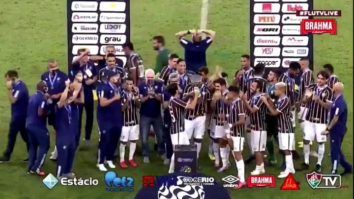1-1: El Fluminense, campeón de la Copa Río por penaltis