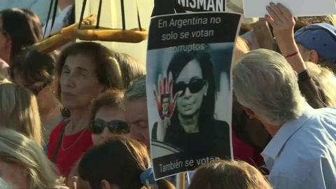 Concentración en Argentina por fiscal Nisman a 5 años de su muerte sin esclarecer