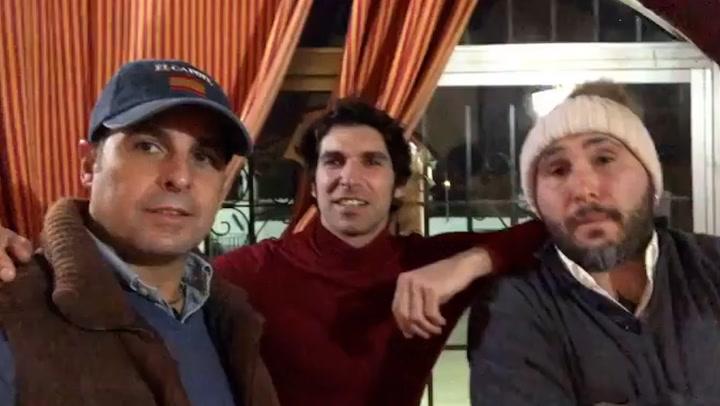 Francisco, Cayetano y Kiko Rivera se reencuentran por Navidad
