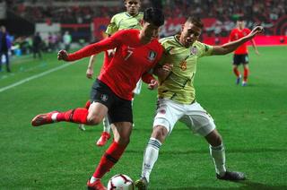 Corea del Sur sorprende a Colombia en amistoso y lo derrota 2-1
