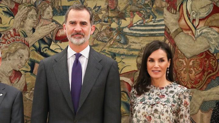 Los Reyes reciben en el Palacio de la Zarzuela  a representantes de Aldeas Infantiles