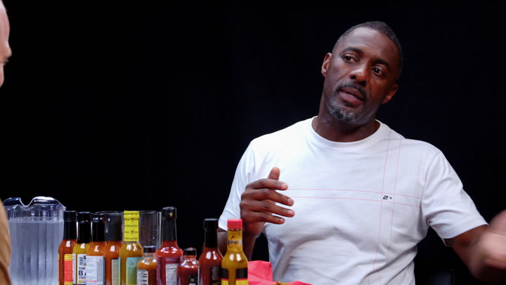 Idris Elba: Hot Ones