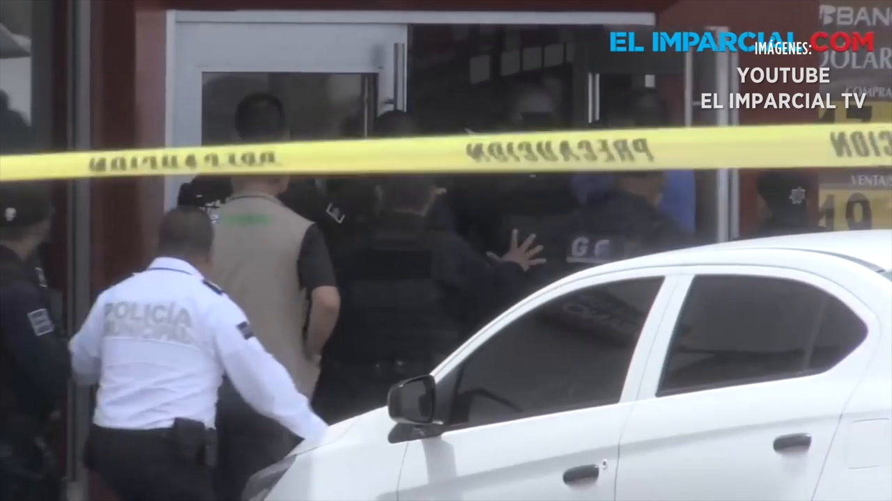 Video: Toma rehenes en intento de asalto