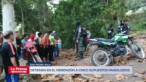 Zafarrancho en El Merendón por detención de cinco supuestos pandilleros de la MS-13