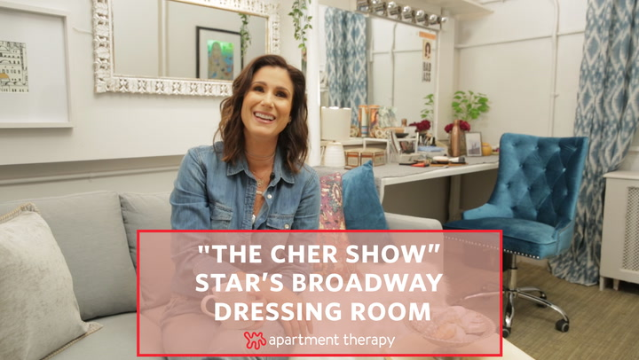"""""""The Cher Show"""" Star's Broadway Dressing Room"""