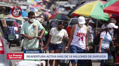 Avance Informativo: Reapertura activa más de 1.6 millones de empleos en Honduras