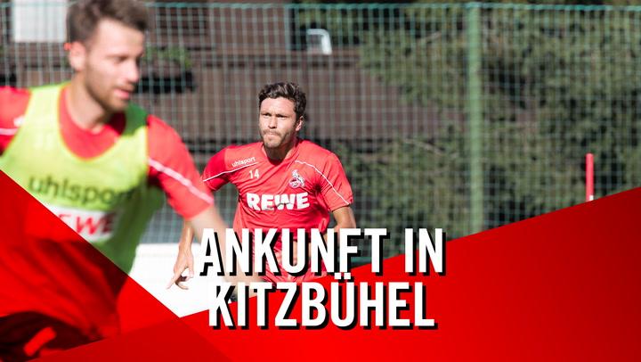 Ankunft in Kitzbühel