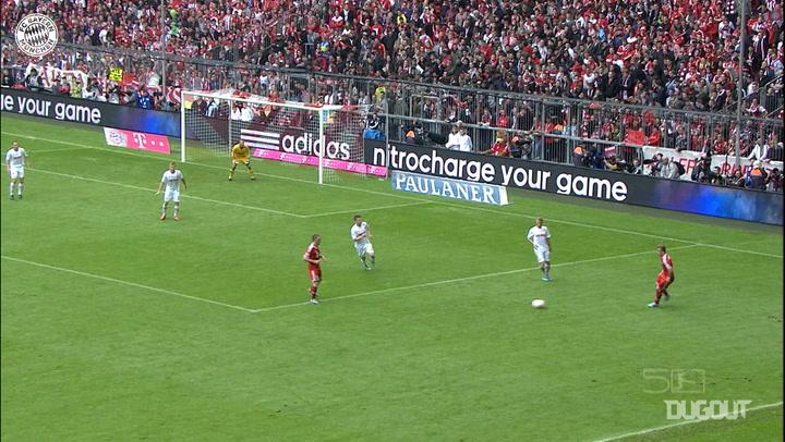 Luiz Gustavo's stunning strike vs FC Augsburg