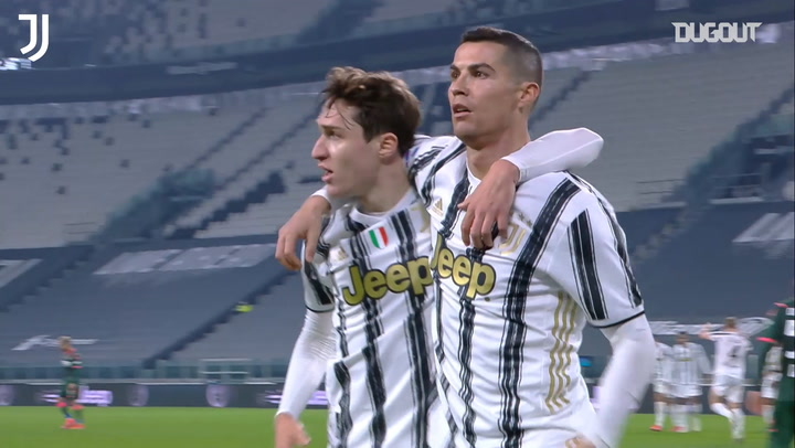 Juventus' 3-0 win against Crotone