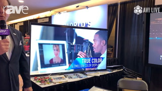 AVI LIVE: Panasonic Presents TH-65EQ1 Series Display with IPS Panels for Greater View Distances