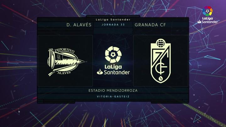 LaLiga Santander (Jornada 33): Alavés 0-2 Granada
