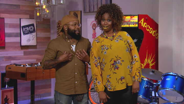 GloZell and Chico Bean Guess Artists With More Number One Hits Than Janet Jackson: Trivial Takedown PreGame