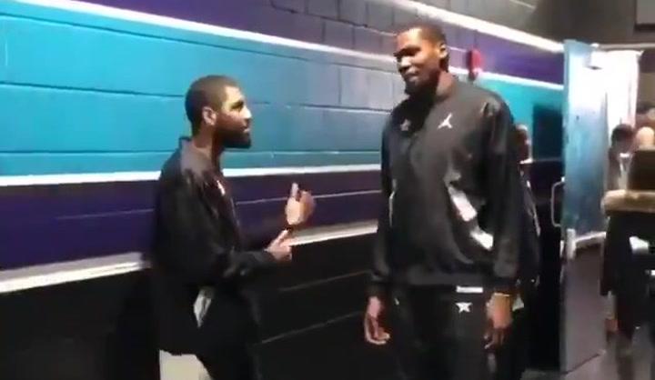 ¿Convenció Irving a Durant de fichar por Brooklyn Nets durante una charla en el pasado All Star?
