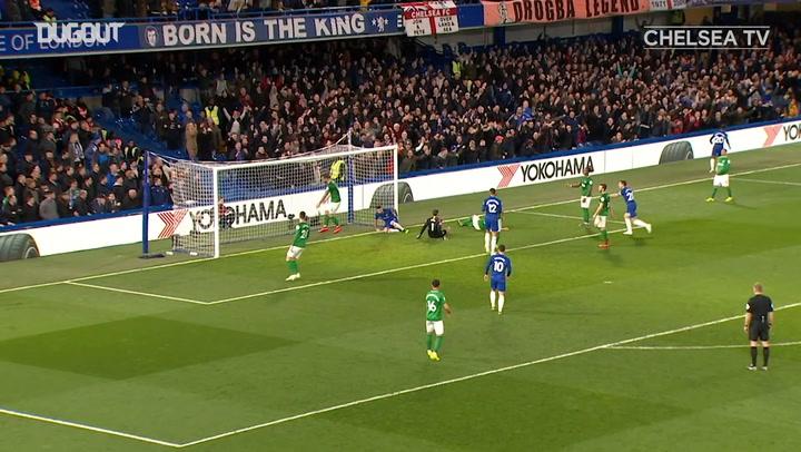 Chelsea dominate Brighton at Stamford Bridge