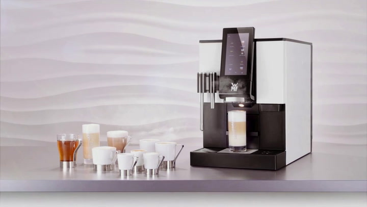 Preview image of Wmf 1100s Automatic Bean To Cup Espresso Machine video