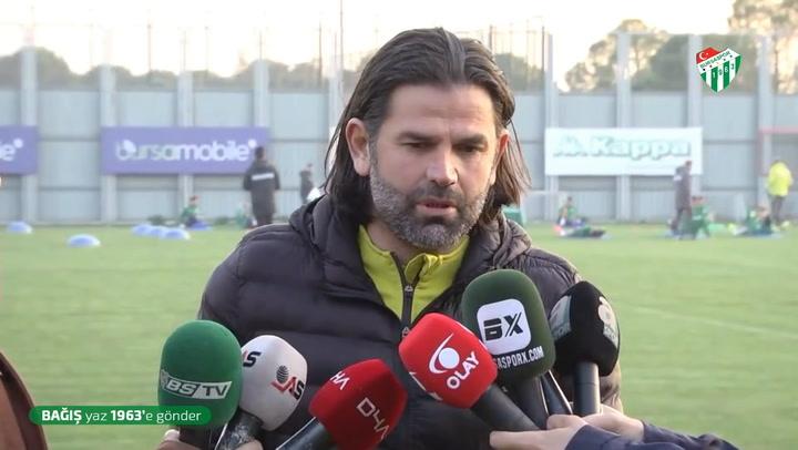 İbrahim Üzülmez'in Erzurumspor Maçı Öncesi Açıklamaları