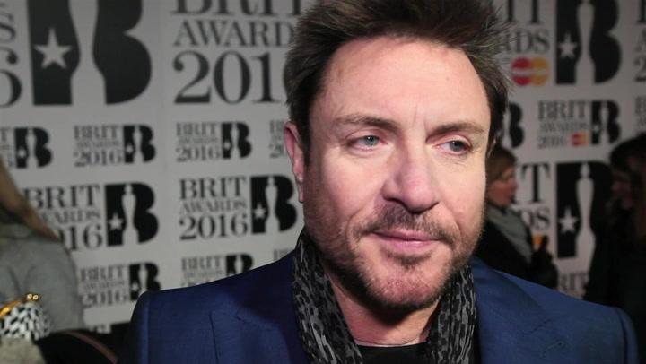 Duran Duran's Simon Le Bon Shares A David Bowie Memory At The 2016 BRITs