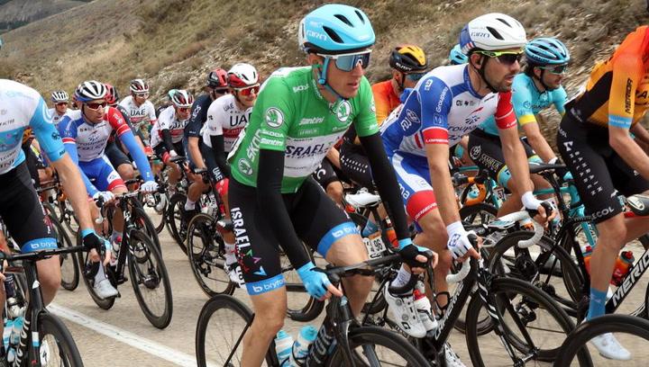 Así ha sido el último kilómetro de la tercera etapa de La Vuelta