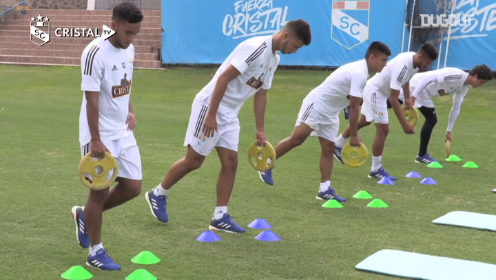 Jhon Marchán's first day at Sporting Cristal