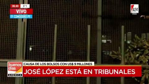José López y De Vido están en Comodoro Py para declarar por la causa de los cuadernos