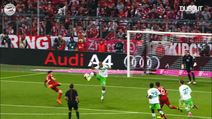 Robert Lewandowski's best goals vs Wolfsburg