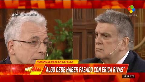 Romano estimó que el conflicto entre Ricardo Darín y Erica Rivas puede ser sentimental