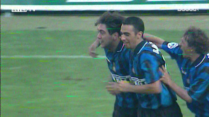Debut Goals: Álvaro Recoba Vs Brescia
