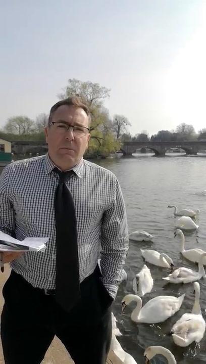 Los Silencios De Los Cisnes De La Reina De Inglaterra Y De Las Instituciones Británicas