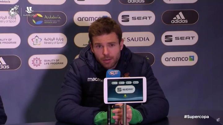 Supercopa de España: Illarramendi dice saber qué hacer para ganar al Barcelona